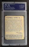 1935 National Chicle #3  George Kenneally   Back Thumbnail
