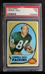 1970 Topps #232  Carroll Dale  Front Thumbnail
