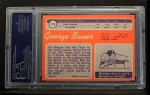 1970 Topps #176  George Sauer  Back Thumbnail