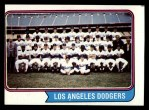 1974 Topps #643   Dodgers Team Front Thumbnail