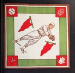 1914 B18 Blankets #65  George Burns  Back Thumbnail