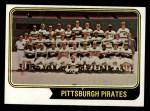 1974 Topps #626   Pirates Team Front Thumbnail