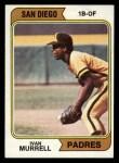 1974 Topps #628  Ivan Murrell  Front Thumbnail