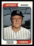 1974 Topps #578  Ralph Houk  Front Thumbnail