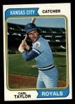 1974 Topps #627  Carl Taylor  Front Thumbnail