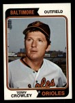 1974 Topps #648  Terry Crowley  Front Thumbnail