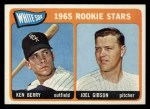 1965 Topps #368   -  Ken Berry / Joel Gibson White Sox Rookies Front Thumbnail