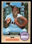 1968 Topps #433  Bob Rodgers  Front Thumbnail