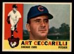 1960 Topps #156  Art Ceccarelli  Front Thumbnail