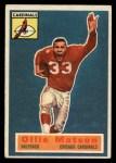 1956 Topps #58  Ollie Matson  Front Thumbnail