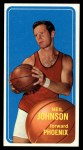 1970 Topps #17  Neil Johnson   Front Thumbnail