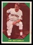 1960 Fleer #45  Jim Bottomley  Front Thumbnail