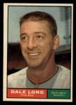 1961 Topps #117  Dale Long  Front Thumbnail