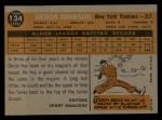 1960 Topps #134   -  Deron Johnson Rookie Star Back Thumbnail