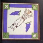 1914 B18 Blankets #88 PBP Slim Sallee   Back Thumbnail