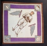 1914 B18 Blankets #31 PBP Earl Hamilton   Back Thumbnail