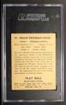 1941 Play Ball #41  Frank Hayes  Back Thumbnail