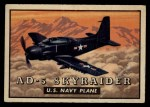 1952 Topps Wings #138   AD-5 Skyraider Front Thumbnail