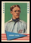 1961 Fleer #23  Johnny Evers  Front Thumbnail