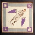 1914 B18 Blankets #75 PB Max Carey   Back Thumbnail