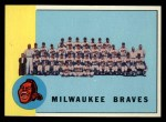 1963 Topps #503   Braves Team Front Thumbnail