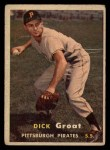 1957 Topps #12  Dick Groat  Front Thumbnail