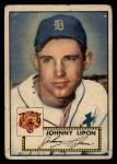 1952 Topps #89  John Lipon  Front Thumbnail