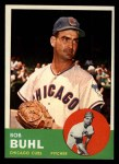 1963 Topps #175  Bob Buhl  Front Thumbnail