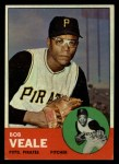 1963 Topps #87  Bob Veale  Front Thumbnail