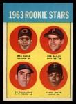 1963 Topps #228   -  Tony Oliva / Max Alvis / Bob Bailey / Ed Kranepool  Rookie Stars   Front Thumbnail