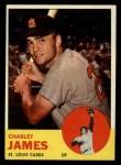 1963 Topps #83  Charlie James  Front Thumbnail