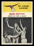1961 Fleer #59   -  Bob Pettit In Action Front Thumbnail