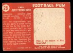 1958 Topps #28  Carl Brettschneider  Back Thumbnail