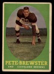 1958 Topps #11  Pete Brewster  Front Thumbnail