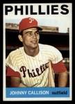 1964 Topps #135  Johnny Callison  Front Thumbnail
