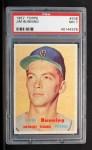 1957 Topps #338  Jim Bunning  Front Thumbnail