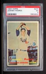 1957 Topps #277  Johnny Podres  Front Thumbnail
