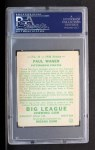 1934 Goudey #11  Paul Waner  Back Thumbnail