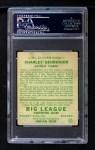 1934 Goudey #23  Charlie Gehringer  Back Thumbnail