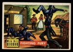 1956 Topps Round Up #7   -  Wild Bill Hickok  Fighting Fury Front Thumbnail
