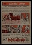 1956 Topps Round Up #26   -  Buffalo Bill Daring Jump Back Thumbnail
