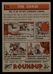 1956 Topps Round Up #76   -  Kit Carson The Chase Back Thumbnail