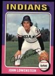 1975 Topps #424  John Lowenstein  Front Thumbnail