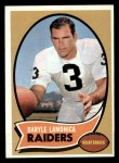 1970 Topps #50  Daryle Lamonica  Front Thumbnail