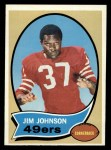 1970 Topps #245  Jimmy Johnson  Front Thumbnail