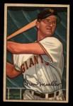 1952 Bowman #18  Don Mueller  Front Thumbnail