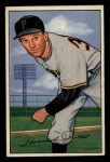 1952 Bowman #83  Howie Pollet  Front Thumbnail