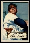 1952 Topps #157 CRM Bobby Usher  Front Thumbnail