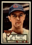 1952 Topps #173 CRM Roy Smalley  Front Thumbnail