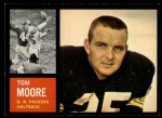 1962 Topps #65  Tom Moore  Front Thumbnail